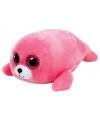 Knuffel zeehond roze Ty Beanie Boo's 15 cm