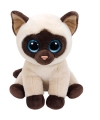 Ty Beanie knuffel Siamees poes 33 cm