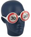 30 jaar verkeersborden bril