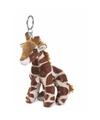 WNF pluche giraffen sleutelhangertje