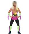 Retro worstelaar pak voor mannen