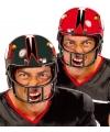 American football verkleedhelm zwart