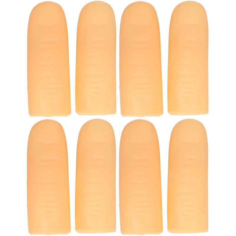 8x Lichtgevende vingertoppen voor kinderen