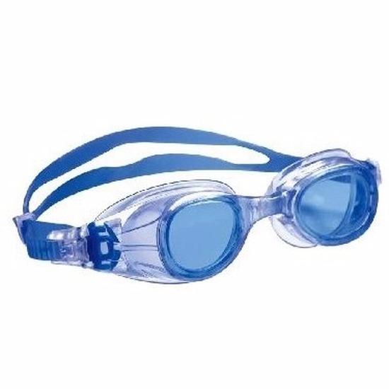 Afbeelding: Anti chloor zwembril blauw voor jongens