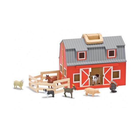 Boerderij speelgoed schuur