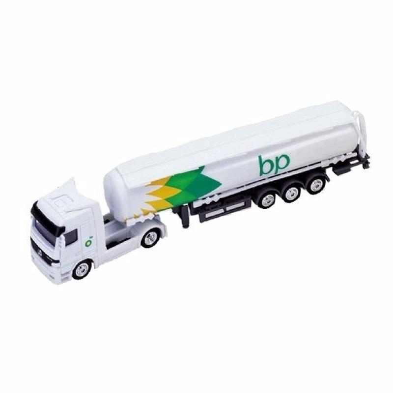 BP witte tankwagen speelgoed modelauto 1:87