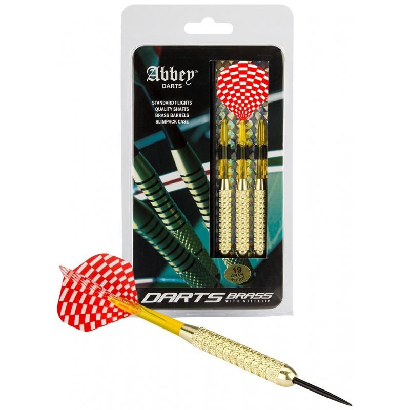 Brass barrel dartpijlenset 3x stuks