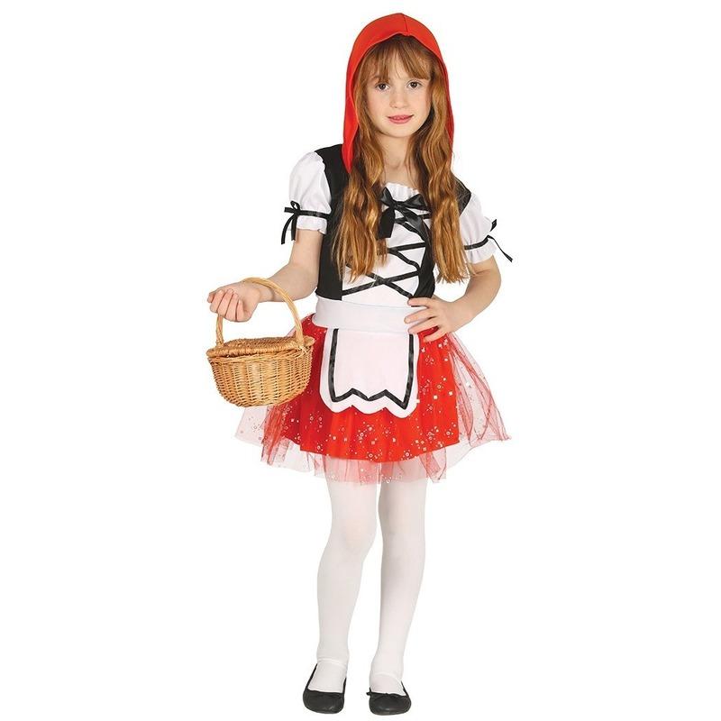 Carnavalskostuum Roodkapje voor meisjes