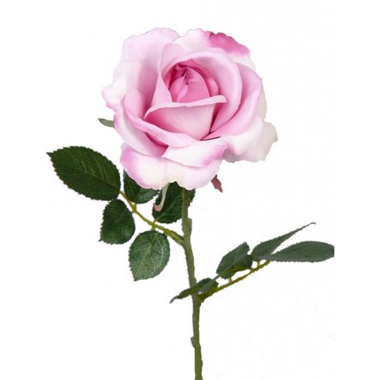 Carol kunst roos roze 37 cm