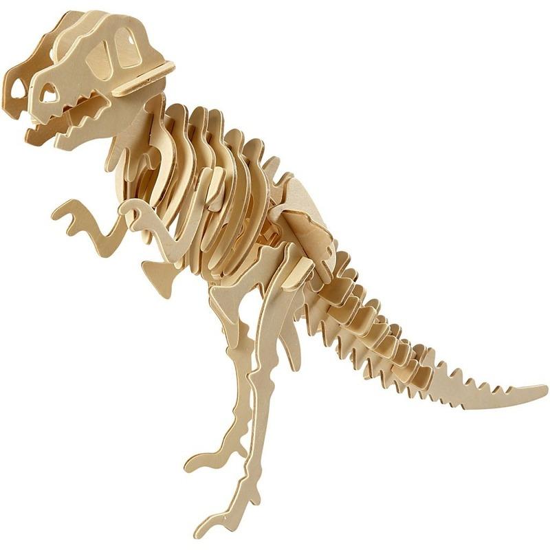 Dinosaurus houten 3D puzzel