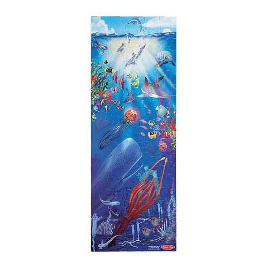 Grote vloerpuzzel 100 stukjes zee thema