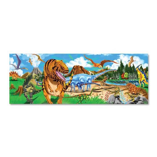 Grote vloerpuzzel 48 stukjes dinosaurus