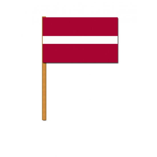 Handvlaggetje Letland