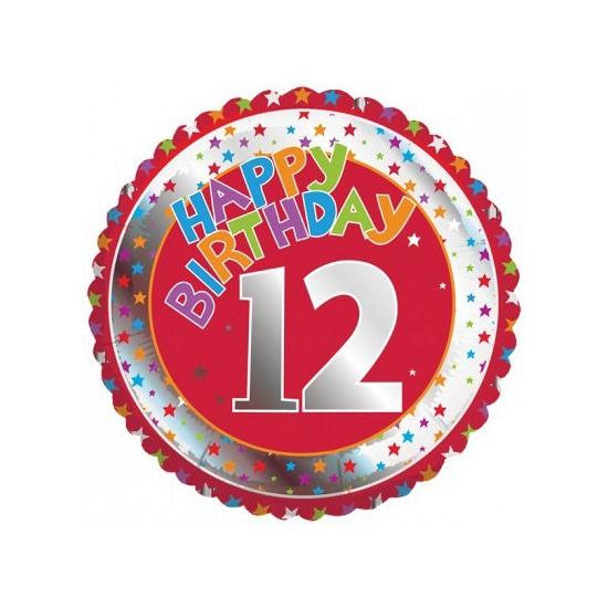 Verwonderend Happy Birthday 12 jaar verjaardag nu maar € 10.99 in deze HA-93