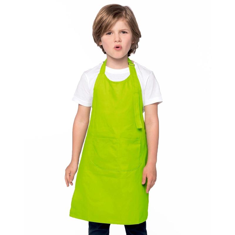 Hobby schorten lime groen voor kinderen