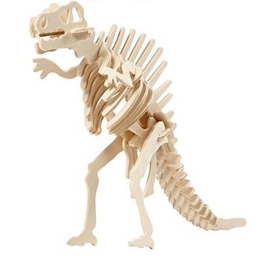 Houten Spinosaurus bouwpakket