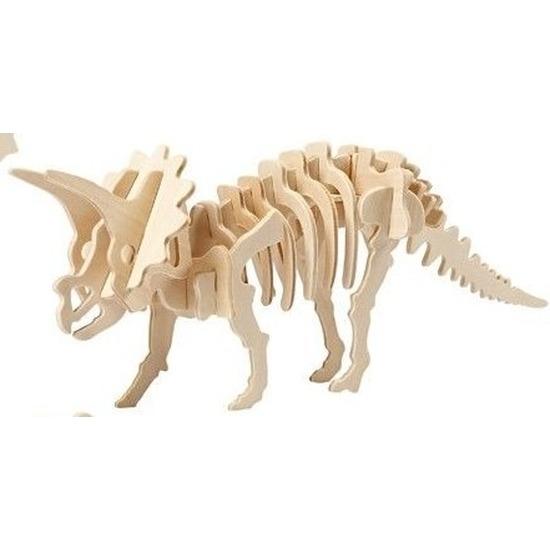 Houten Triceratops bouwpakket
