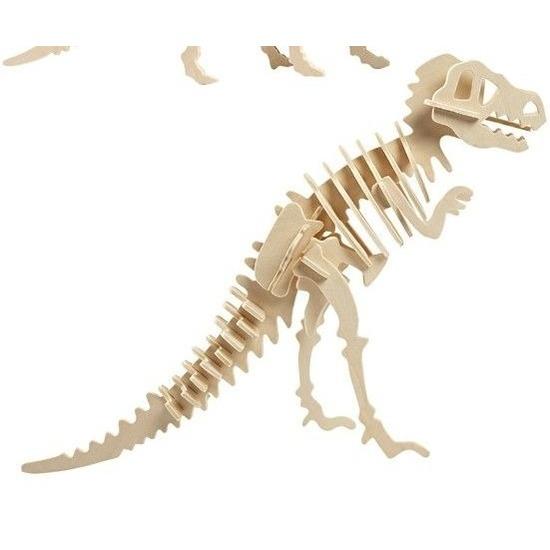 Houten Tyrannosaurus bouwpakket