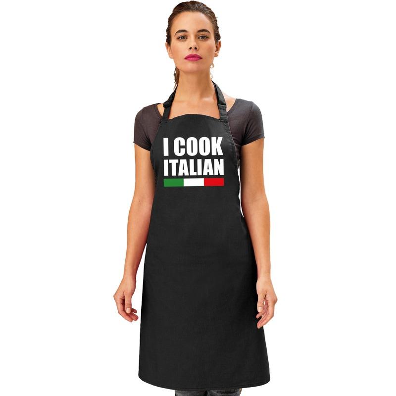 I cook Italian keukenschort