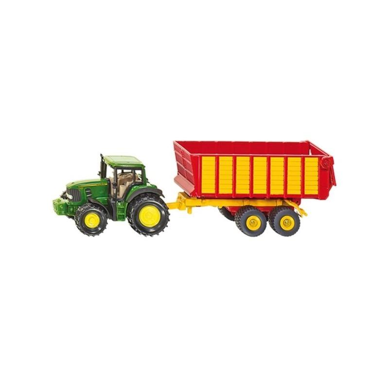 John Deere speel tractor van metaal
