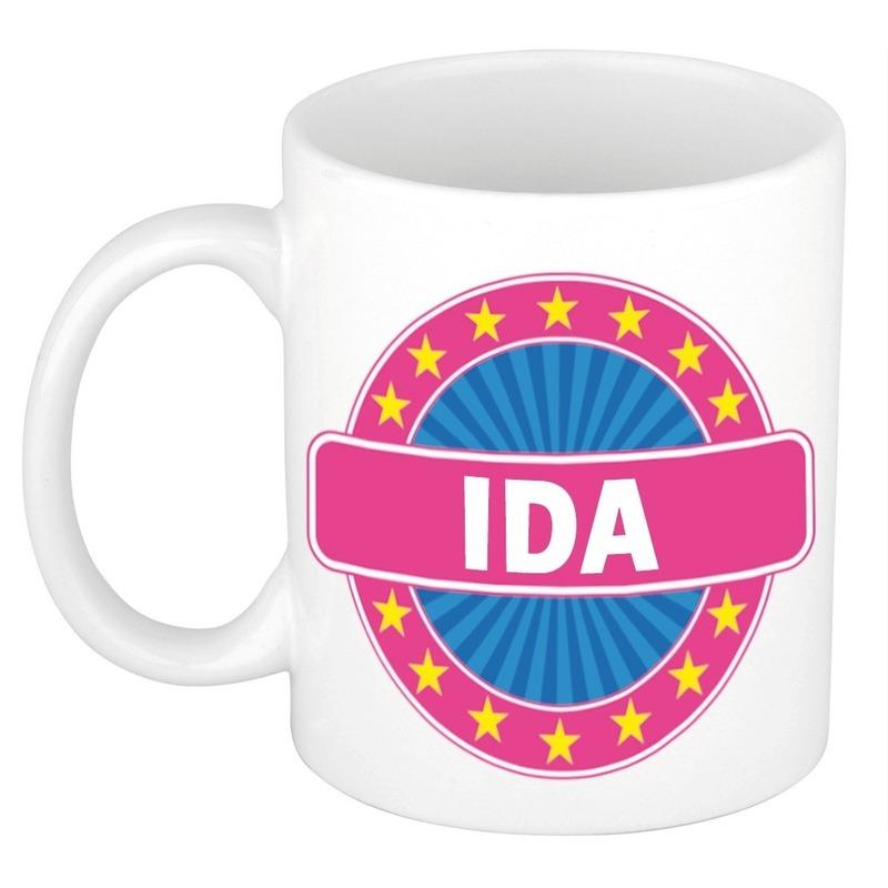 Kado mok voor Ida
