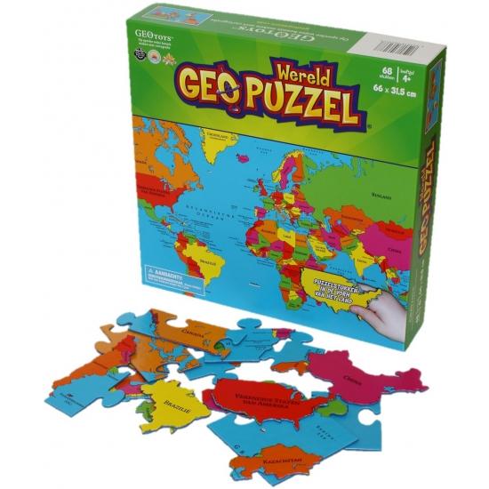 Kinder puzzel van de aarde