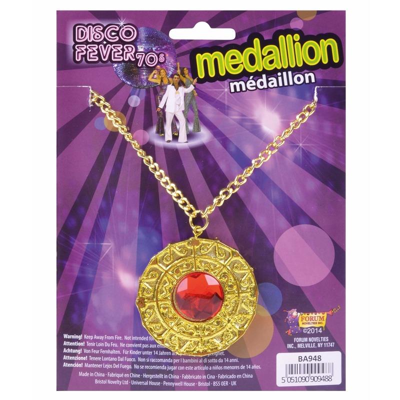Medaillon 1001 nacht goud