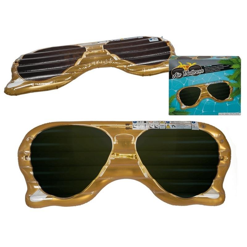 Opblaasbaar luchtbed zonnebril 174 cm