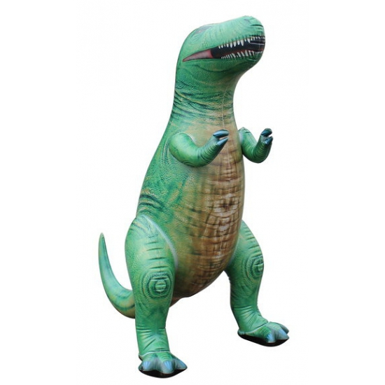 Opblaasbare levensechte T-Rex 94 cm