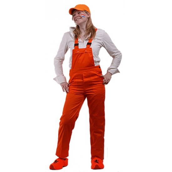 Oranje overall voor kinderen