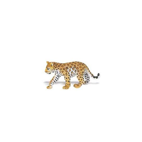 Plastic luipaard welpje speelfiguur 9 cm