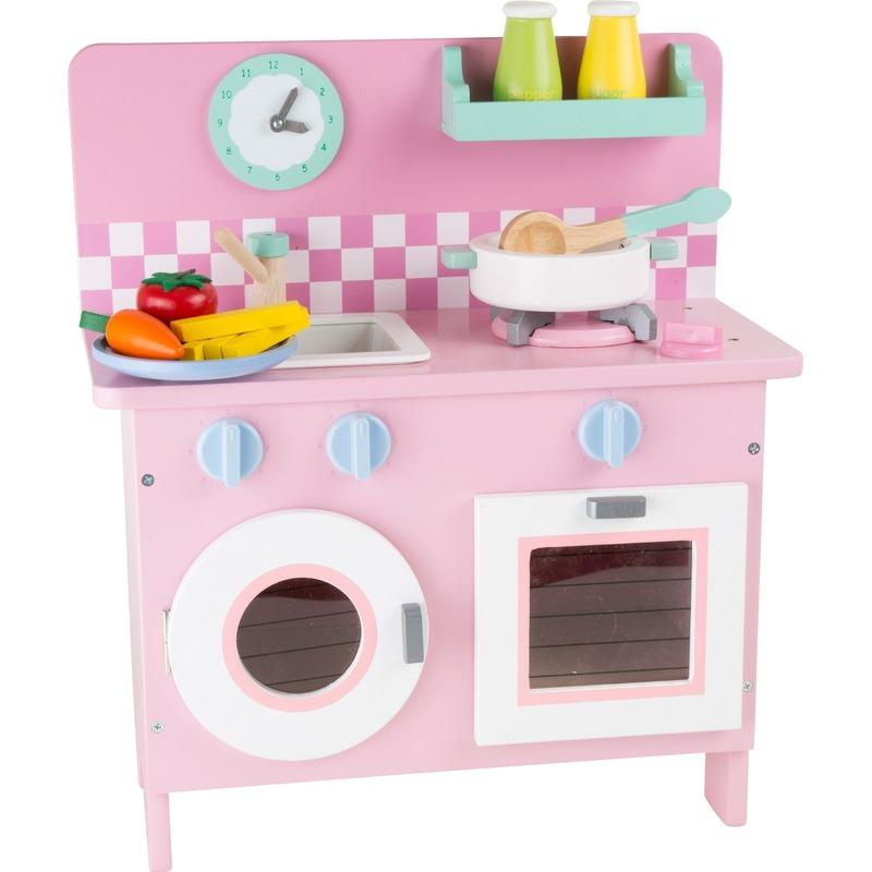 Roze keuken voor meiden 40 x 20 x 45 cm