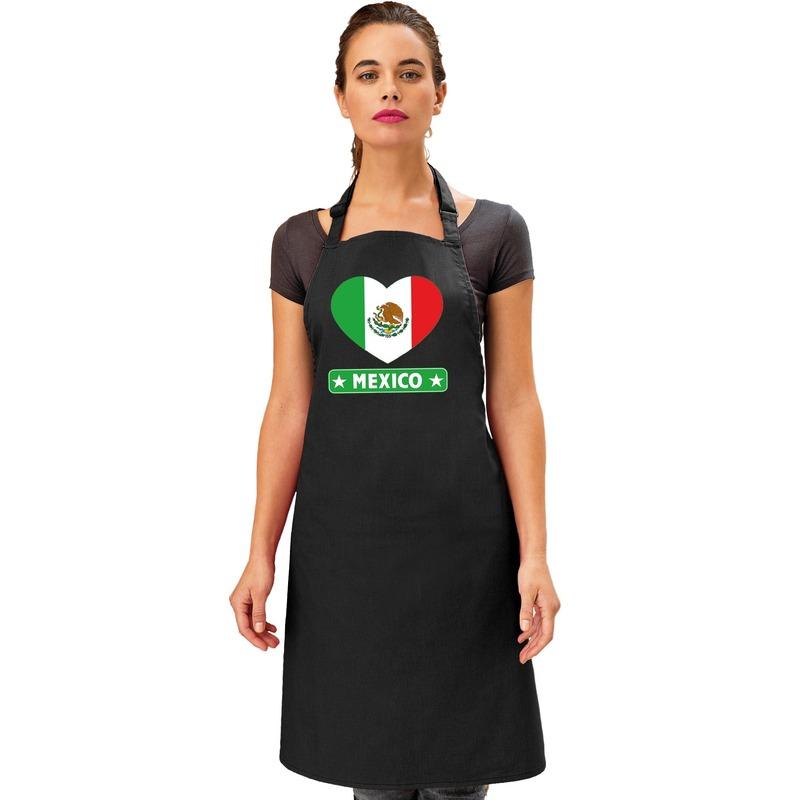 Schort Mexicaans restaurant hart Mexico
