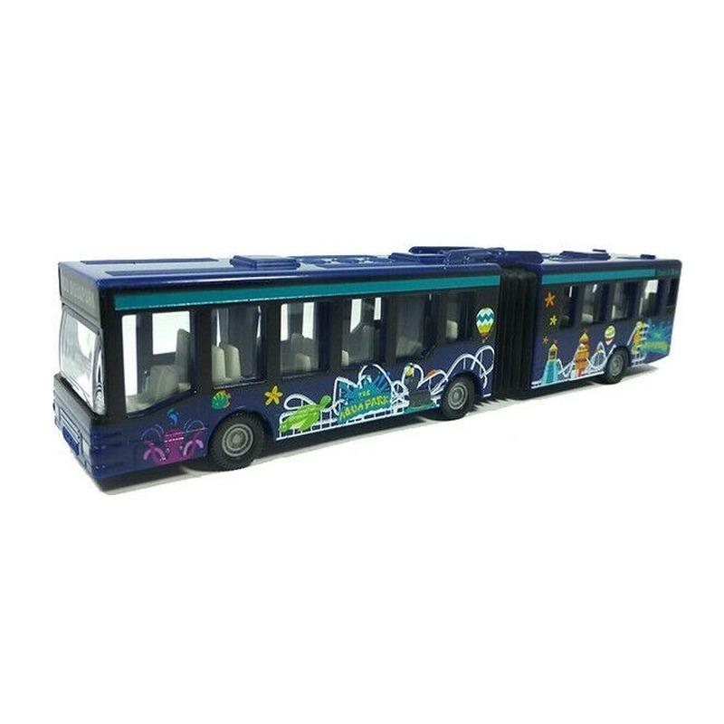 Siku speelgoed bus blauw 16 cm