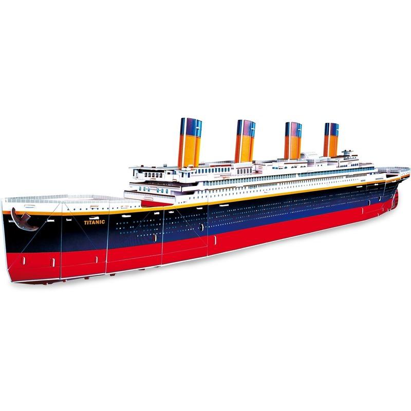 Speel Titanic puzzel in 3D