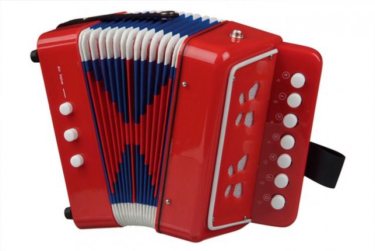 Speelgoed accordeon