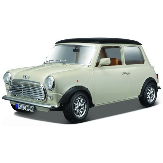 Speelgoed auto Mini Cooper 1969 1:18
