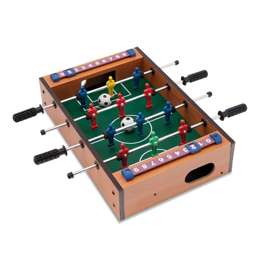 Tafel voetbal spel kantoor variant