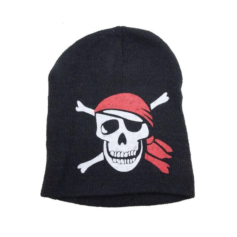 Warme muts in piraten thema