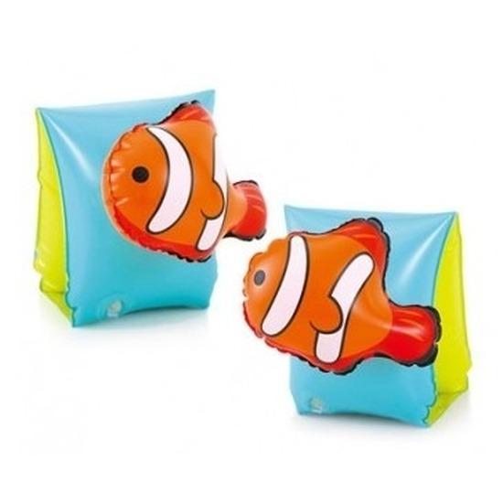 Zwembandjes/zwemvleugels 3-6 jaar met 3D vissen print